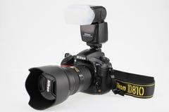Nikon D810. Single Lens Reflex Camera,Nikon D810 royalty free stock images