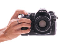 Nikon D200 DSLR Camera Stock Image
