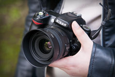 Nikon D80 Stock Image