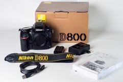 Nikon D800 Set Stock Images