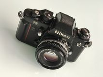 Nikon F3 35mm SLR film camera Stock Photography