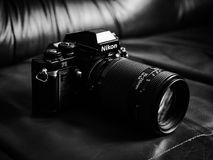 Nikon F3 SLR film camera Stock Images