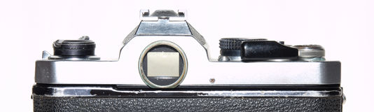 Nikon FM een beroemde beroemde camera stock afbeeldingen