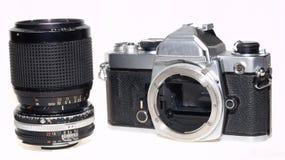 Nikon FM een beroemde beroemde camera royalty-vrije stock afbeelding