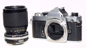 Nikon FM eine berühmte berühmte Kamera Lizenzfreies Stockbild