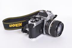 Nikon FM2n Royalty-vrije Stock Foto's