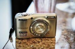 Nikon kamera Arkivbilder