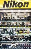 Nikon lager Royaltyfri Bild