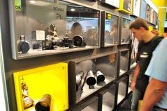 Nikon Objektiv-Standplatz Lizenzfreie Stockfotografie