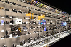 Nikon Showroom, Tokyo, Japan. Nikon Showroom in Tokyo, Japan Royalty Free Stock Photos