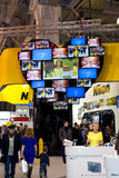 Nikon stand at Consumer Electronics & Photo Expo. 14th of April 2013 in Moscow, Russia royalty free stock photo