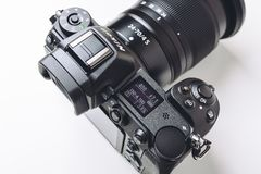 Nikon Z7 full-frame mirrorless camera royalty free stock image