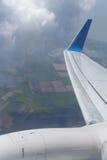 nikonvinge för flygplan d200 Fotografering för Bildbyråer