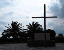 Nikos Kazantzakis Grave Monument Stock Photo