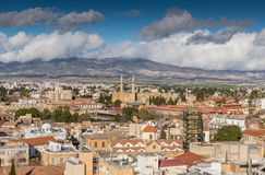 Nikosia-Stadt-Ansicht Stockfoto