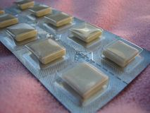 nikotyna gumowa Fotografia Stock