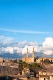 Nikozja, Cypr, widok z lotu ptaka zdjęcie royalty free