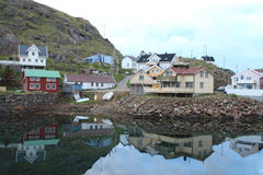 Niksund's midnight mirrors Stock Photography
