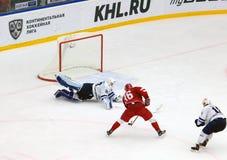 A Nikulin (36) attack Royaltyfri Bild