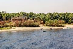 Nil brzeg Zdjęcie Royalty Free