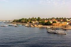Nil brzeg Fotografia Royalty Free
