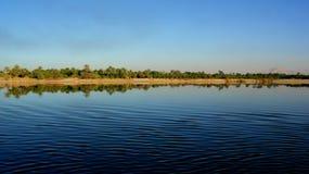 Nil brzeg na słonecznym dniu zdjęcia royalty free