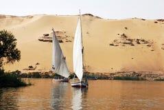 Nil felucca lizenzfreies stockfoto