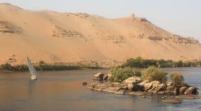Nil-Fluss stockfoto
