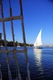 Nil-Fluss Lizenzfreie Stockfotografie