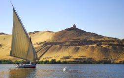 Nil-Fluss Lizenzfreie Stockfotos