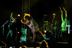 Nil Karaibrahimgil concert Royalty Free Stock Photos