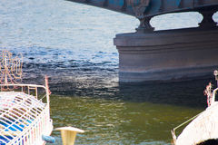 Nil rzeka przy Kair, Egipt - Fotografia Royalty Free