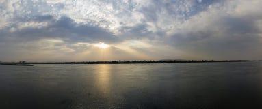 Nil słońca set Obraz Royalty Free