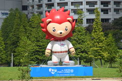 Nila The Mascot For 2015 Paragraaf-Overzeese Spelen Stock Fotografie