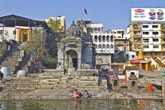 Nilakantheshwar temple Stock Images