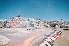 Niland, la Californie - 26 juin 2016 : Montagne la Californie de salut Photo stock