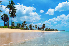 Nilaveli海滩 免版税库存照片