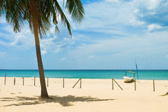 Nilaveli beach. In Trincomalee, Sri Lanka Royalty Free Stock Image
