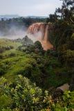 Nile azul cai em Etiópia Foto de Stock