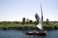 Nile boat Stock Photos