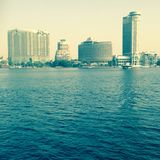 The Nile Cairo stock photo