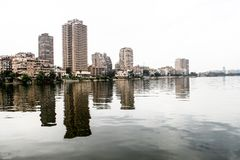 Nile Of Cairo, Egypte image stock
