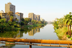 Nile canal Stock Photos