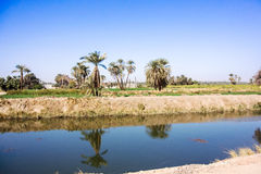 Nile canal Royalty Free Stock Images