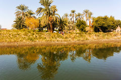 Nile canal Stock Photo