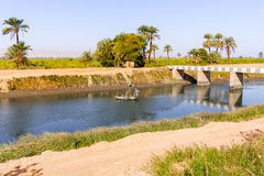 Nile canal Royalty Free Stock Photo