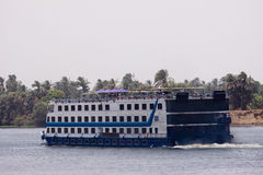 Nile cruise. Cruise navigation in the river nile in egypt stock photos