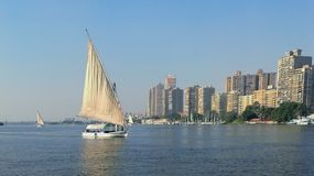 Nile Cruise. Relaxing as it should be Stock Images