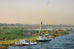 Nile felucca Royalty Free Stock Photos