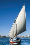 Nile Felucca tradicional Imagenes de archivo